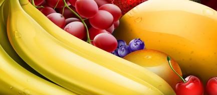 フルーツ盛り合わせ スマホ壁紙