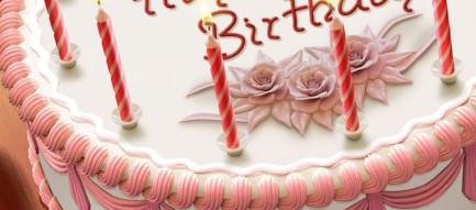 誕生日ケーキ スマホ壁紙