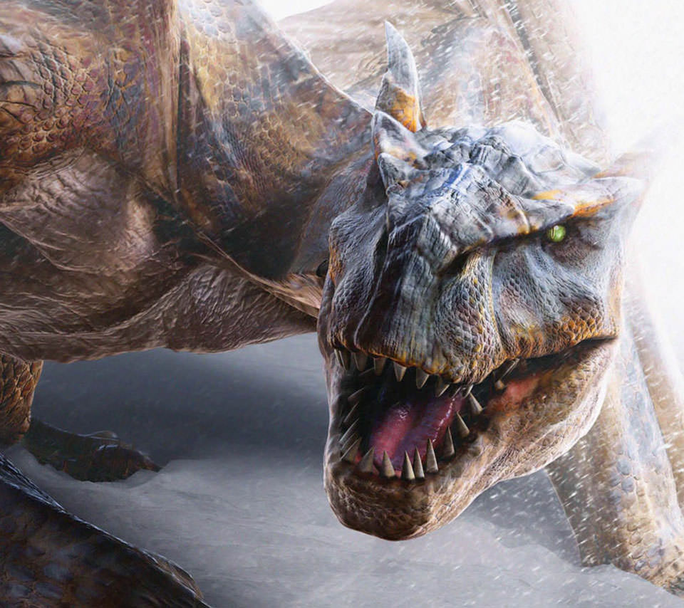 ティラノザウルス スマホ用壁紙