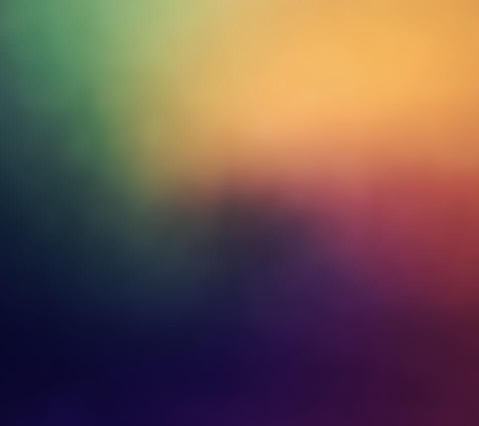 淡く綺麗な虹色のスマホ壁紙