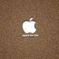 apple for life iPhone5 スマホ用壁紙