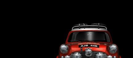 赤い軽自動車 スマホ壁紙