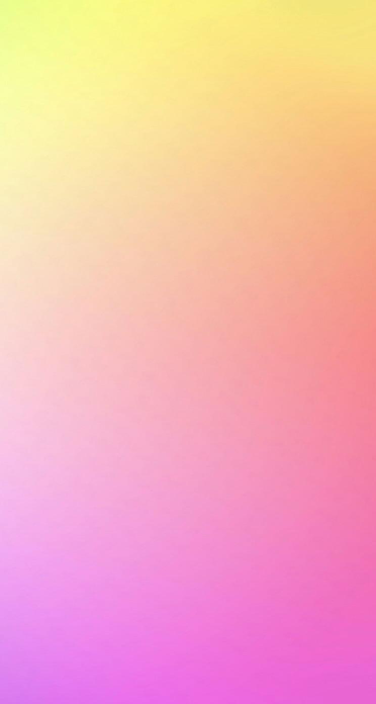 黄色とピンクのグラデーション iPhone5 スマホ用壁紙
