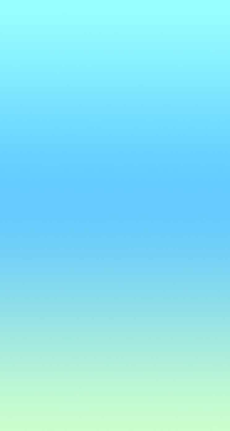 シンプルな水色のグラデーション iPhone5 スマホ用壁紙