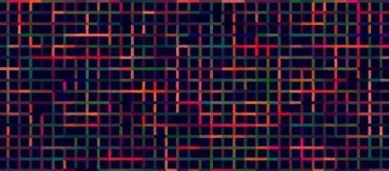 カラフルな網目状のiPhone5 スマホ用壁紙