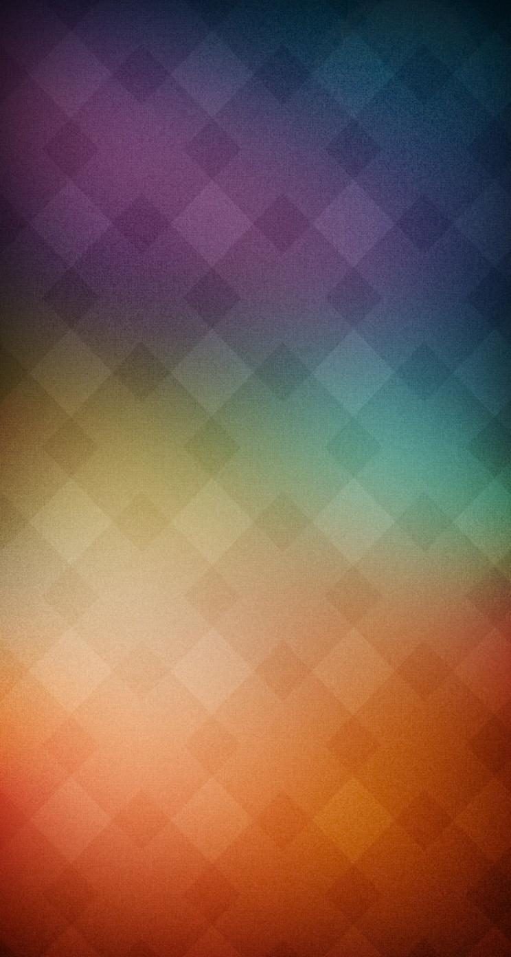虹色グラデーション iPhone5 スマホ用壁紙