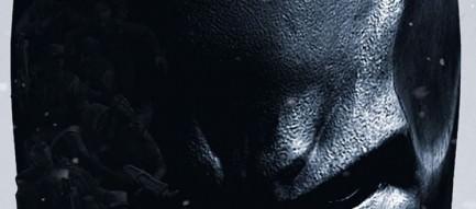 俯くバットマン iPhone5 スマホ用壁紙