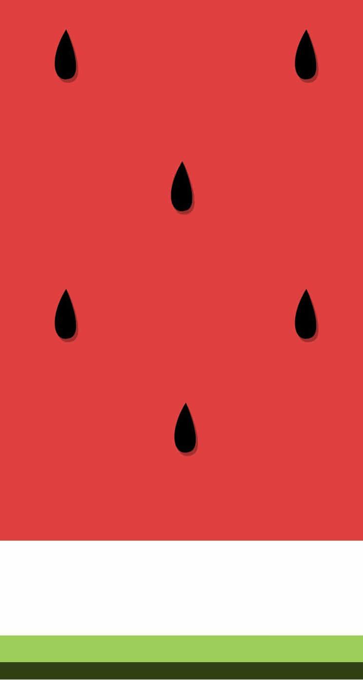 watermelon iPhone5 スマホ用壁紙