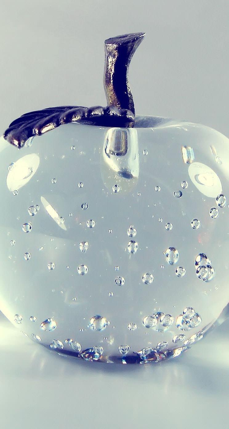ガラスの林檎 iPhone5 スマホ用壁紙