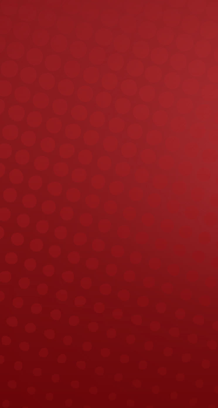 赤のドット柄 iPhone5 スマホ用壁紙