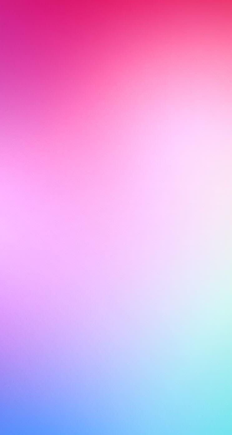 赤と青のグラデーション iPhone5 スマホ用壁紙