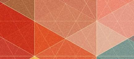 カラフルなポリゴン iPhone5 スマホ用壁紙