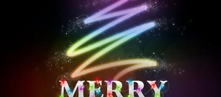 メリークリスマス iPhone5 スマホ用壁紙
