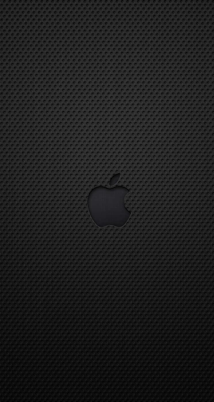 黒のかっこいいiPhone5 スマホ用壁紙