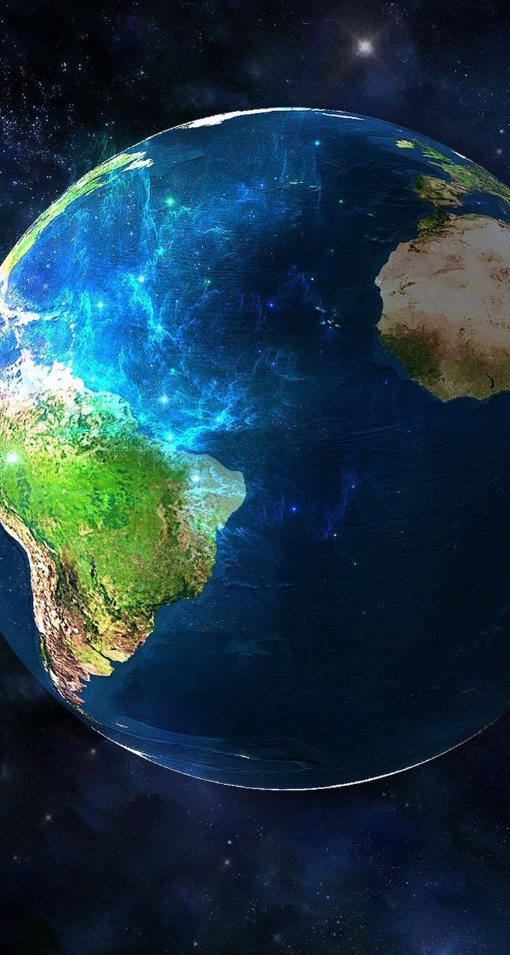 美しい地球 iPhone5 スマホ用壁紙