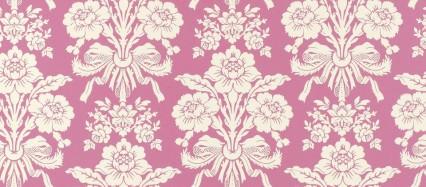 かわいいピンクの花柄 Android壁紙