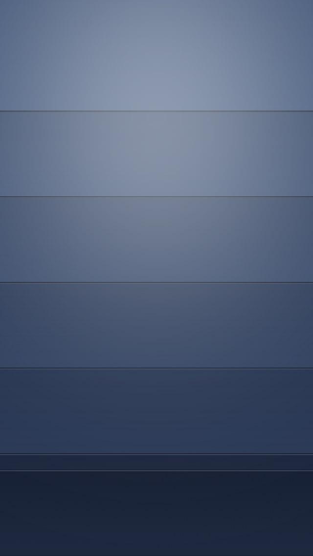 綺麗な青のグラデーション iPhone5 スマホ用壁紙