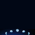 月の満ち欠け iPhone5 スマホ用壁紙