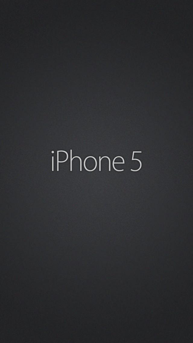 Deep Black iPhone5 スマホ用壁紙