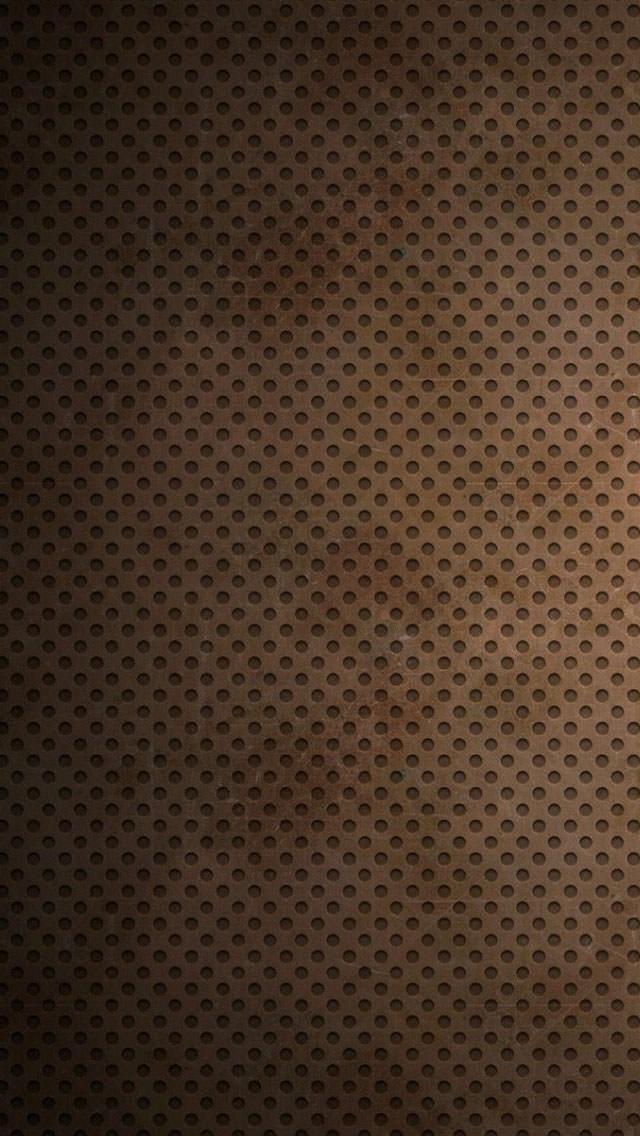 錆付いた茶色のiPhone5 スマホ用壁紙