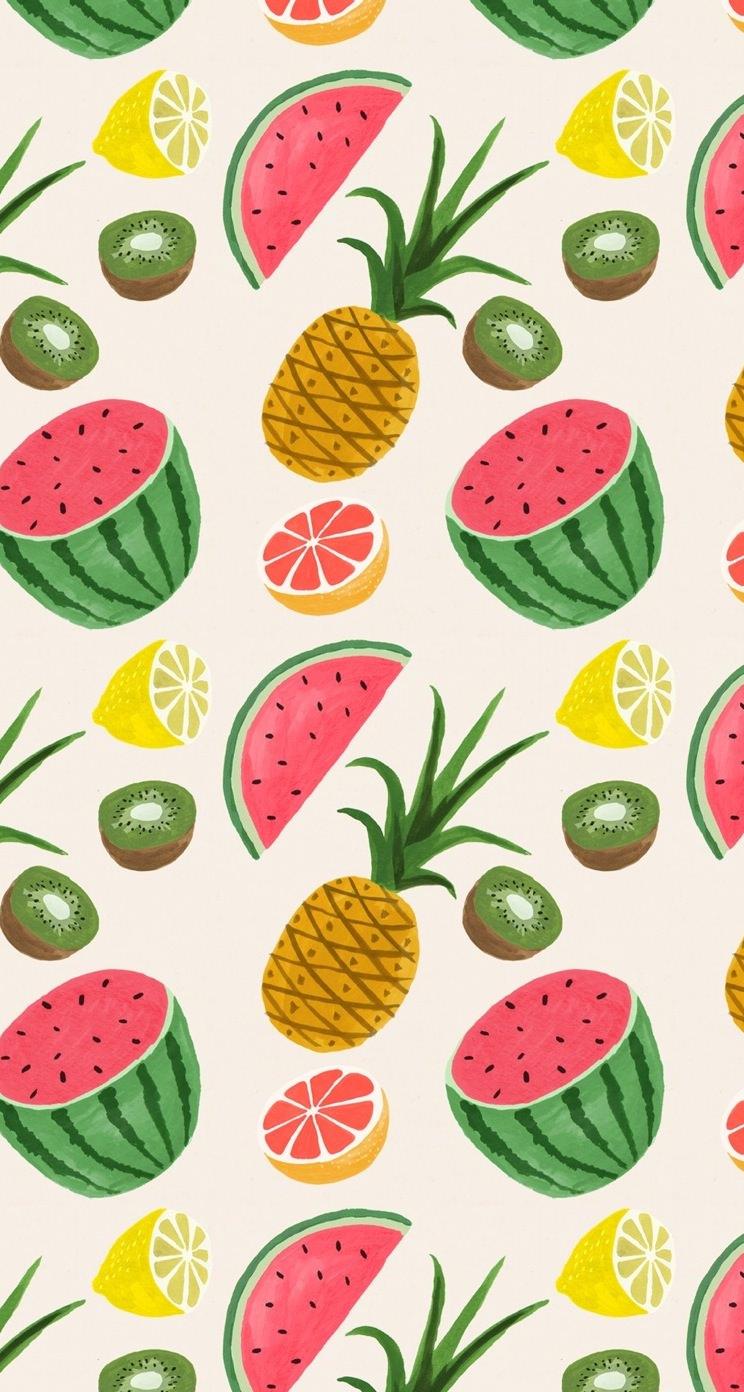 沢山のフルーツ Iphone5 スマホ用壁紙 Wallpaperbox