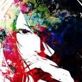 少女のイラスト iPhone5 スマホ用壁紙