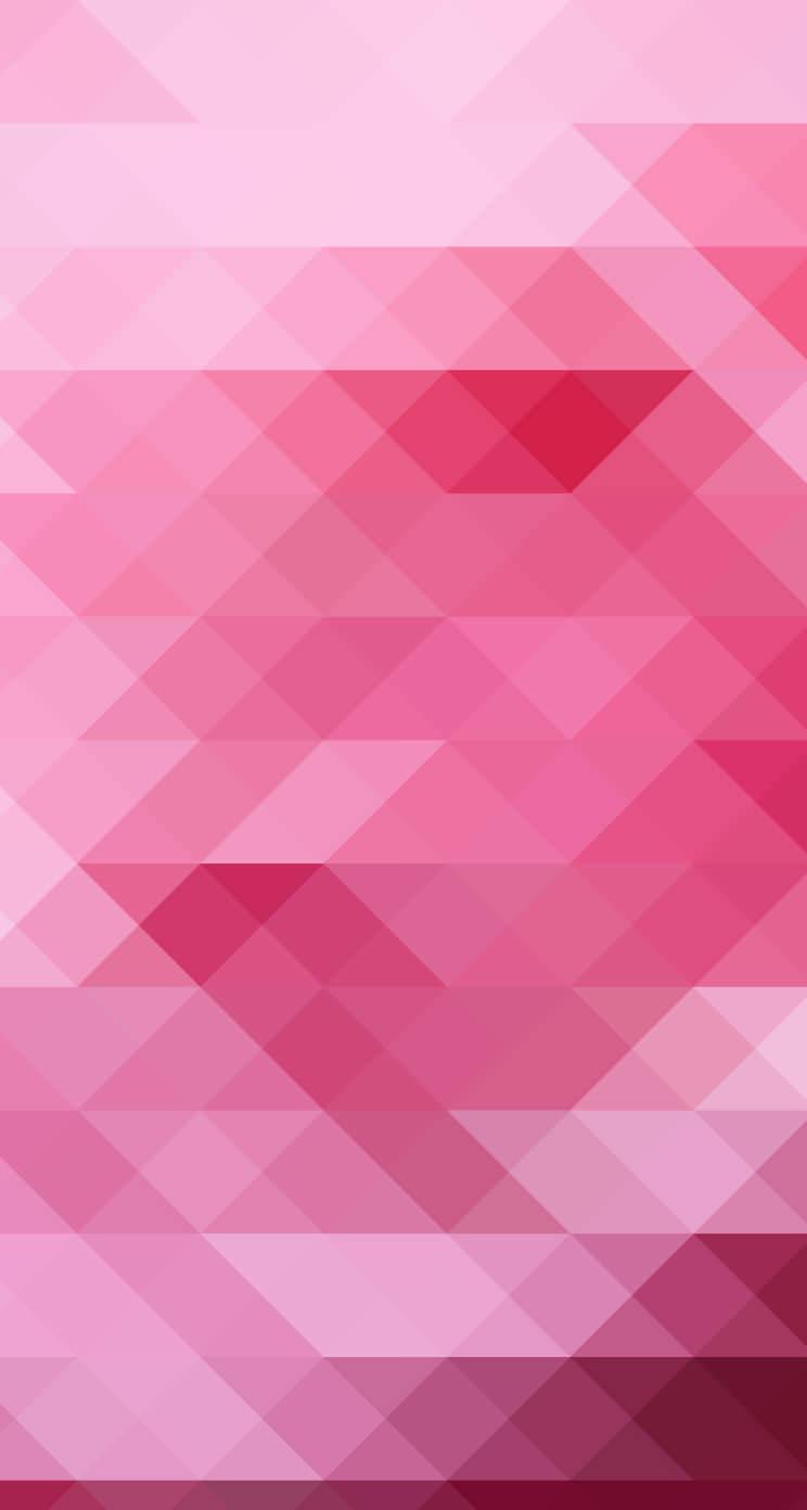 ポップなピンク iPhone5 スマホ用壁紙