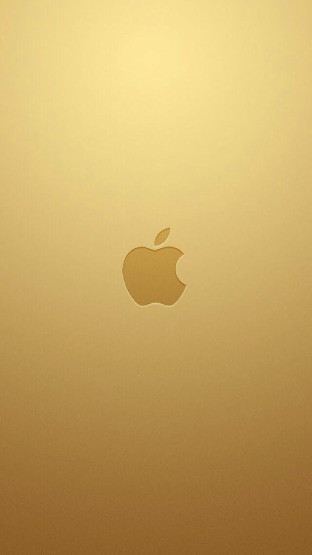 ゴールド iPhone5 スマホ用壁紙