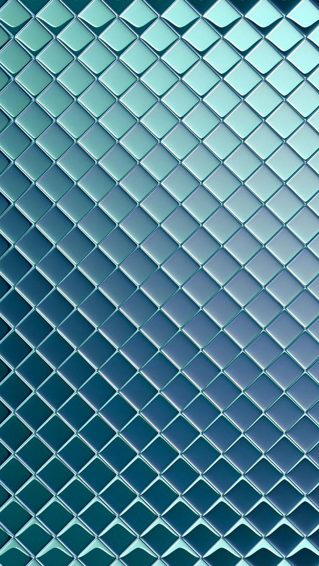 青いラメ iPhone5 スマホ用壁紙