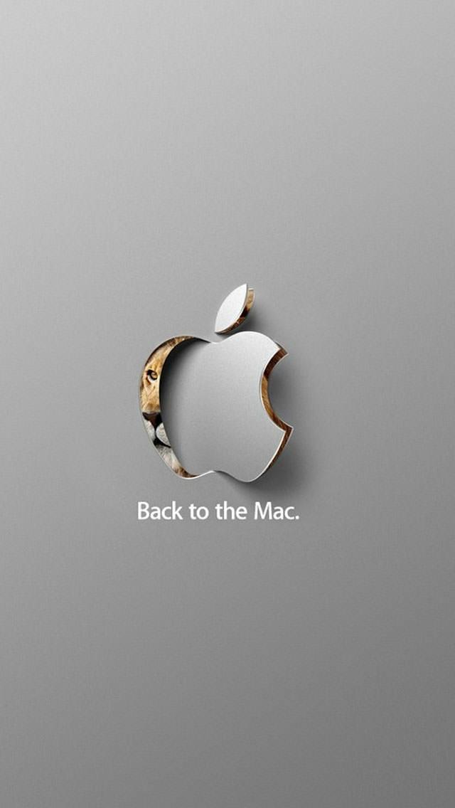 Back to the Mac iPhone5 スマホ用壁紙