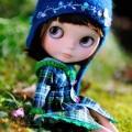 かわいい人形 iPhone5 スマホ用壁紙