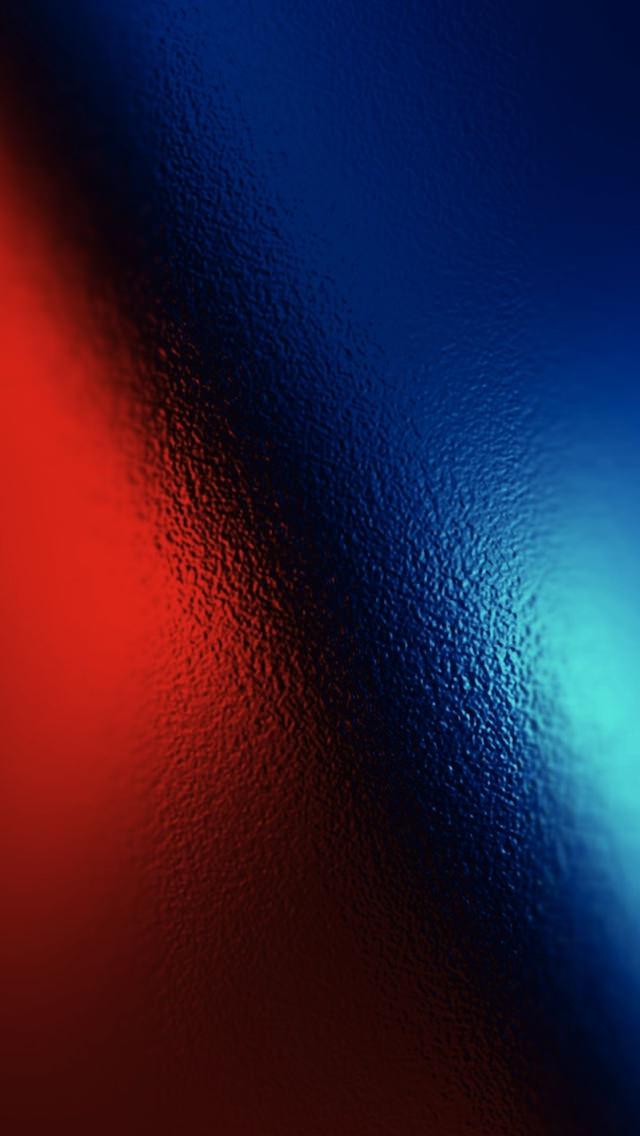 赤と青のガラス iPhone5 スマホ用壁紙