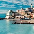 イタリアのチンクエテッレの風景 iPhone5 スマホ用壁紙