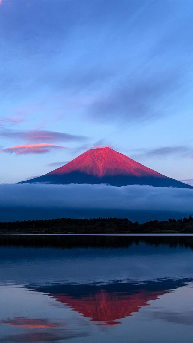 世界遺産 富士山 iPhone5 スマホ用壁紙