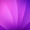 濃淡のある綺麗な紫 iPhone5 スマホ用壁紙