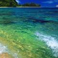 透明感のある海 iPhone5 スマホ用壁紙
