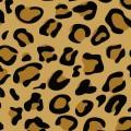 イラストの豹柄パターン iPhone壁紙
