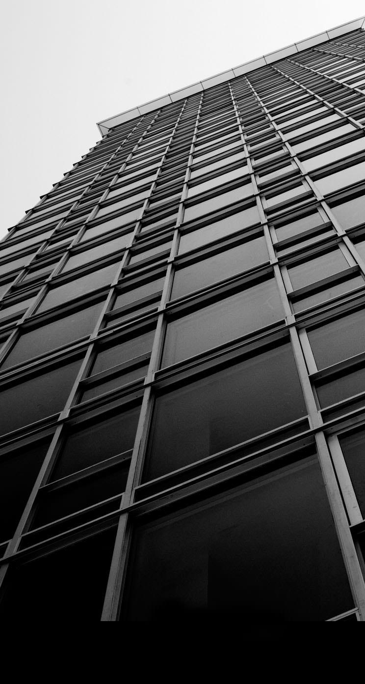 モノクロの建物 Iphone5 スマホ壁紙 Wallpaperbox