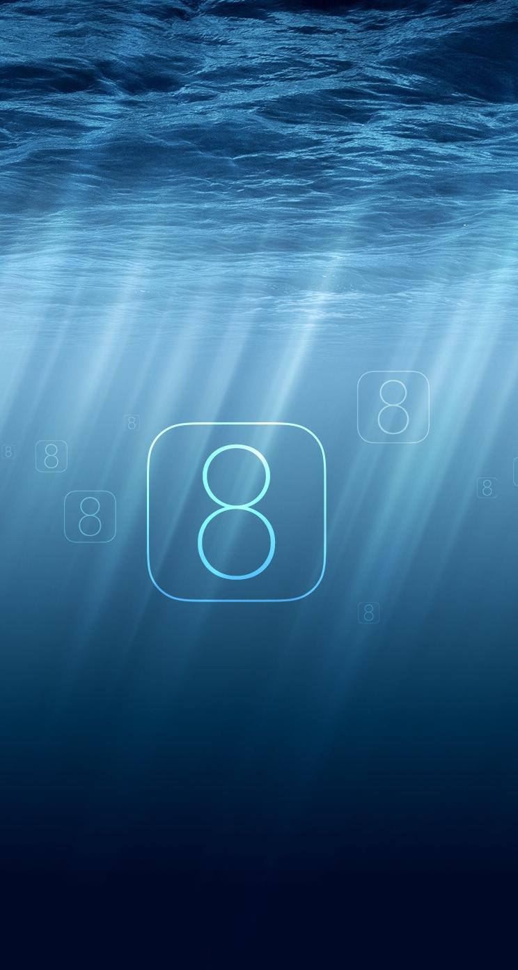 iOS8 iPhone壁紙