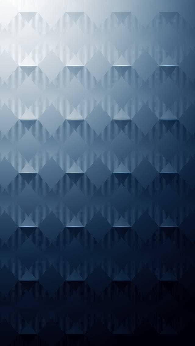 ダークブルー iPhone壁紙