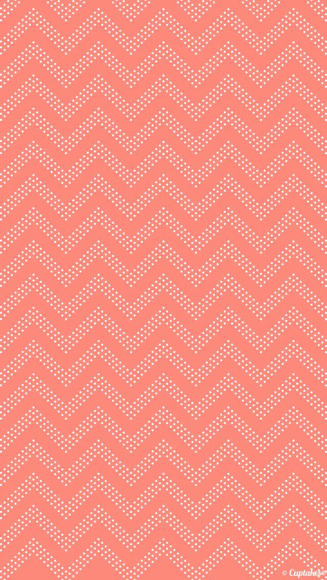 ピンクのジグザグ iPhone5 壁紙