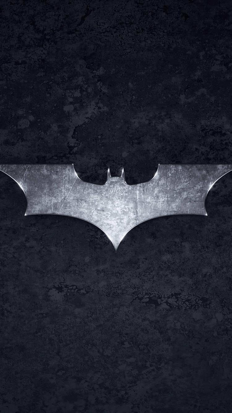 バットマンロゴ iPhone6 壁紙