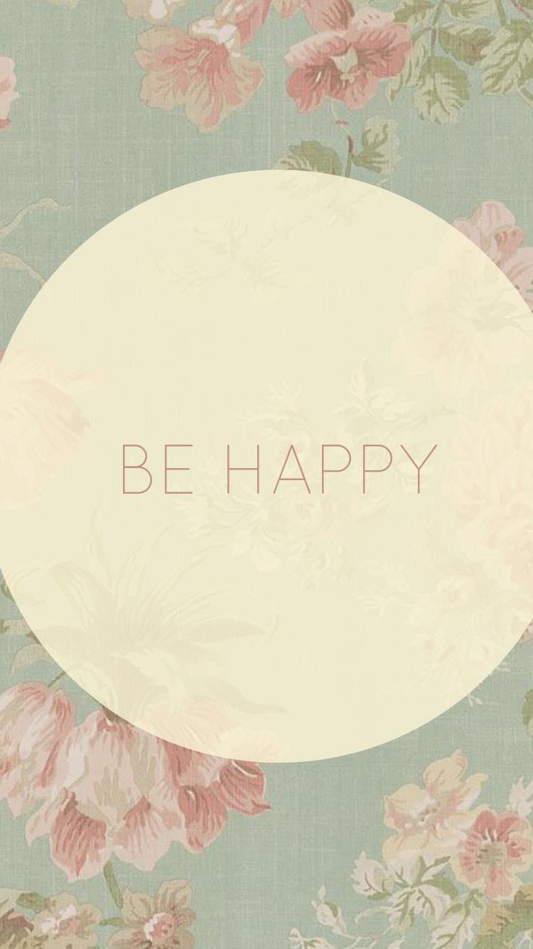 幸せになるiPhone6 壁紙