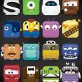 ディズニーアイコン iPhone5 壁紙