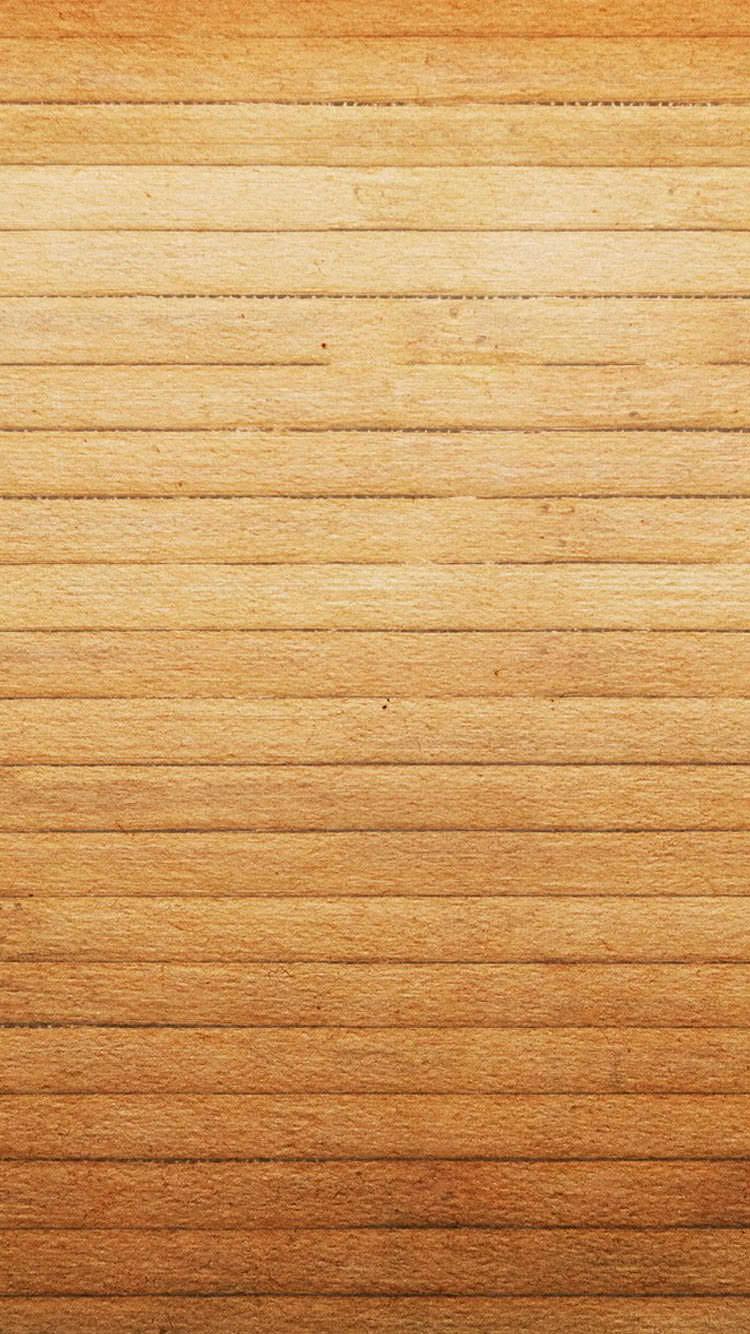 ウッド調のiPhone6 壁紙