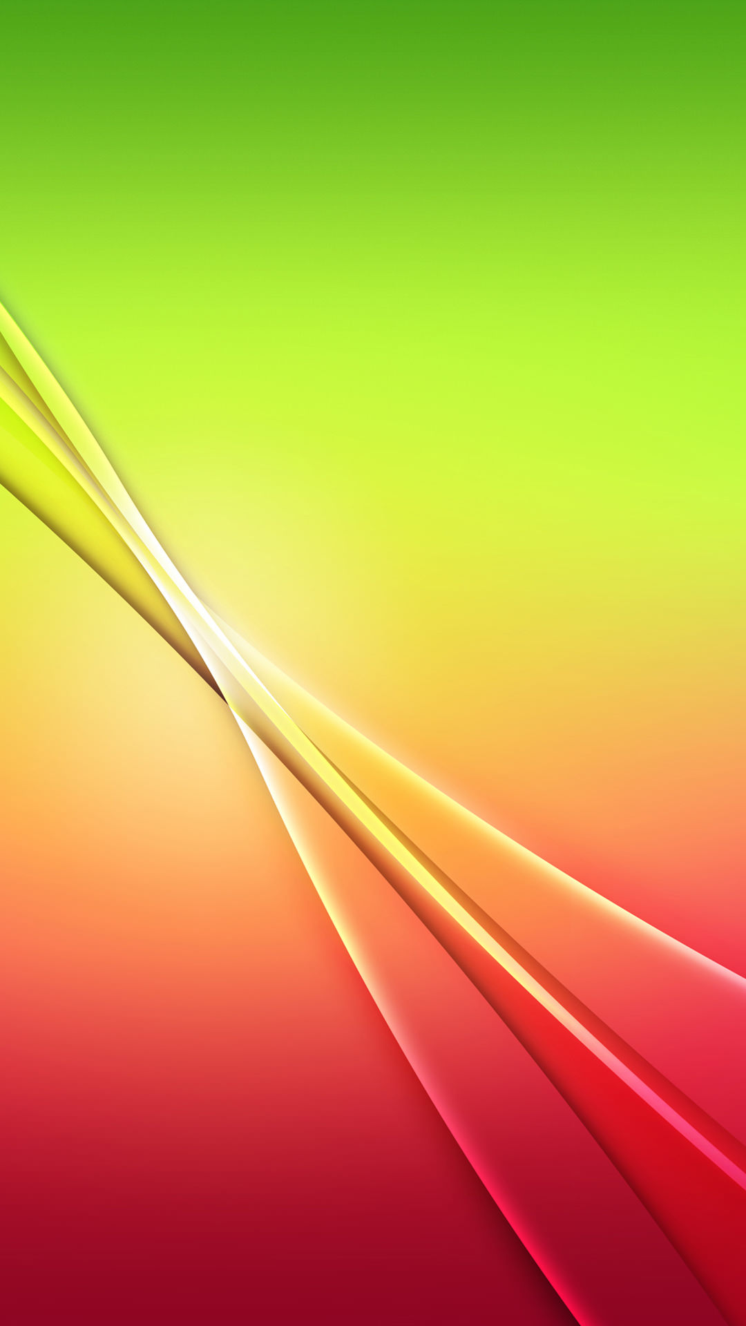 赤と緑のグラデーション iPhone6 Plus 壁紙