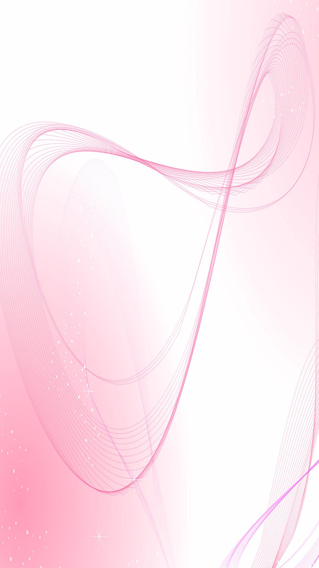 薄いピンクのアブストラクト iPhone6 Plus 壁紙