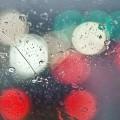 水滴がついて濡れたガラス iPhone6 Plus 壁紙