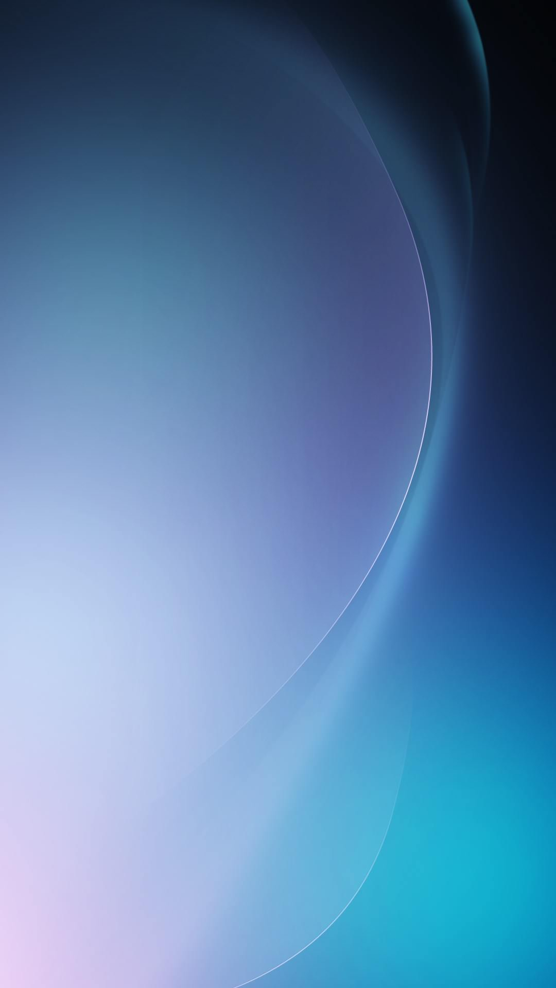 濃淡のある青のiPhone6 Plus 壁紙