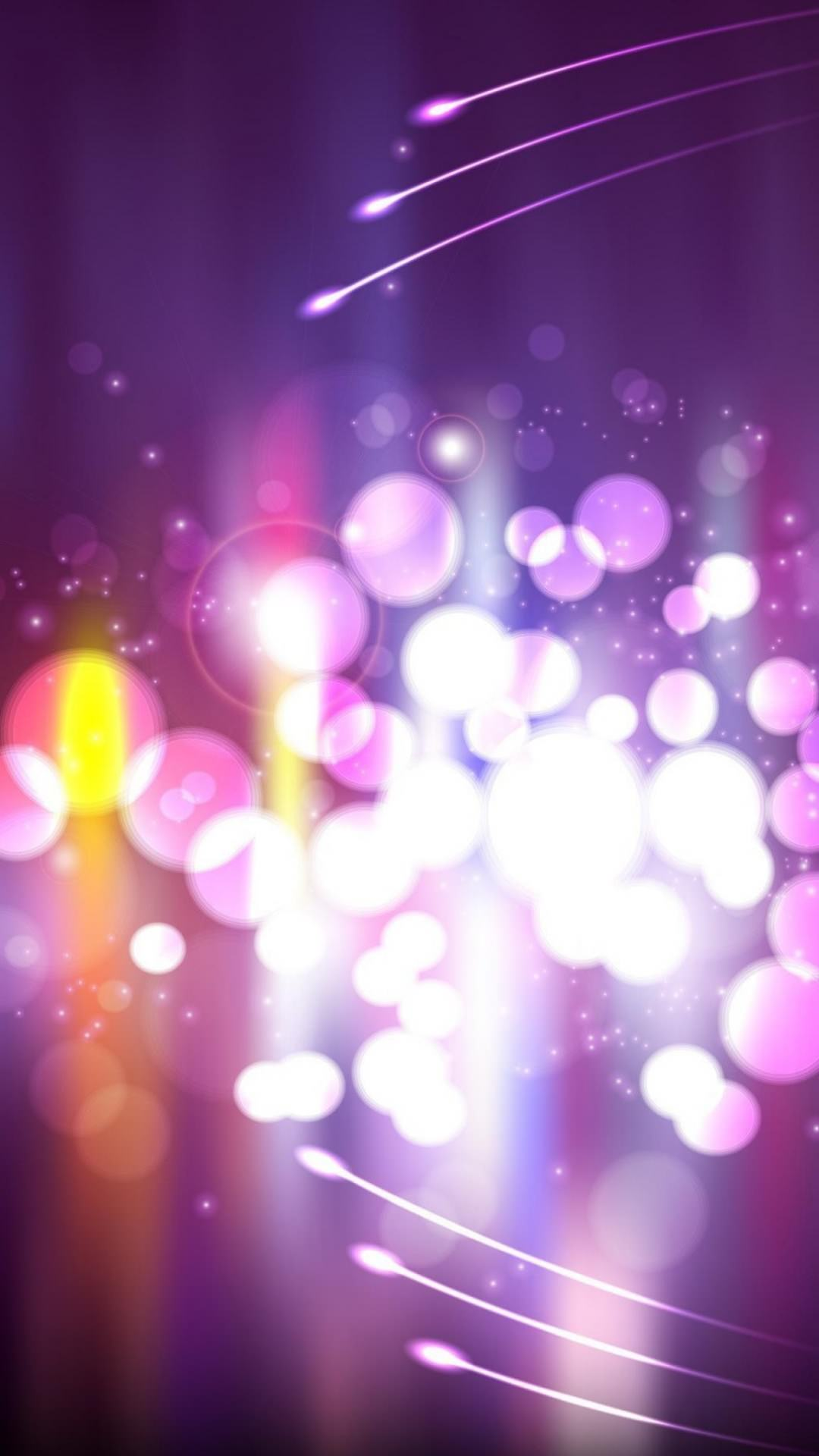 紫のストロボ iPhone6 Plus 壁紙